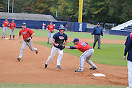 Ole Miss baseball practice in Oxford, Miss. on Thursday, October 27, 2011.