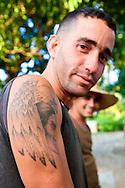Tattoo in Cueto, Holguin, Cuba.