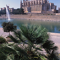 Gothic cathedral of Mallorca