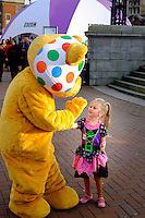 City Centre, Kingston Upon Hull, East Yorkshire, United Kingdom, 31 October, 2015. CBBC Live Digital Hull. Pictured: