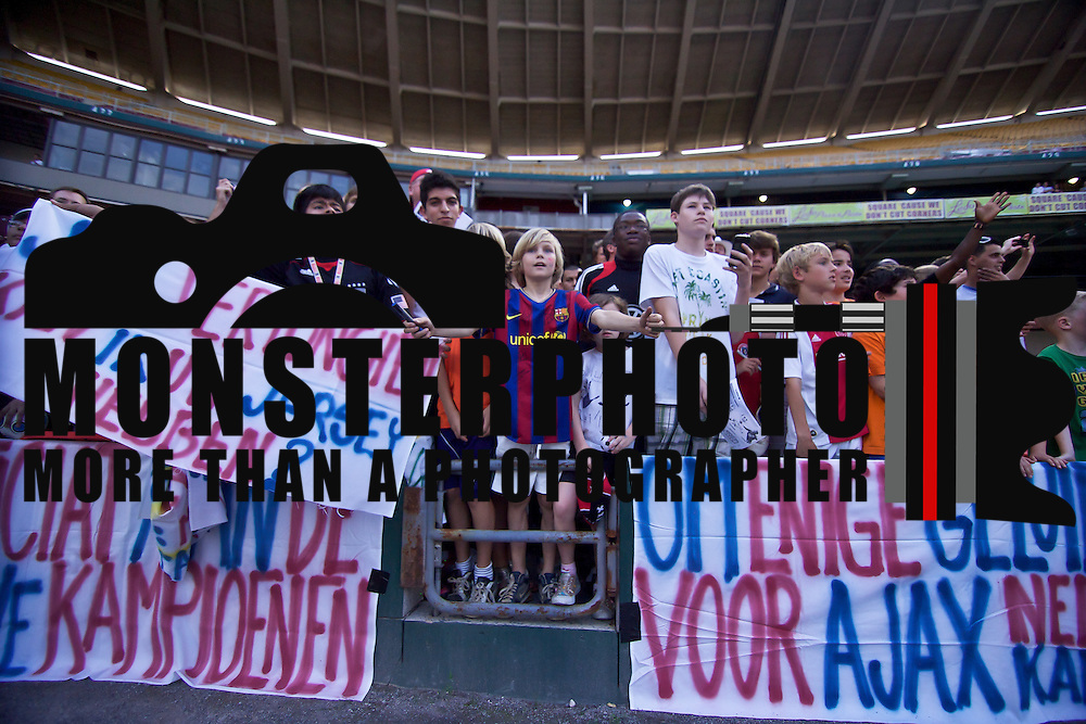 AFC Ajax Fans after the MLS International friendly match between AFC Ajax and D.C. United...AFC Ajax Defeated DC United Sunday, May 22, 2011 at  RFK Stadium in Washington DC.