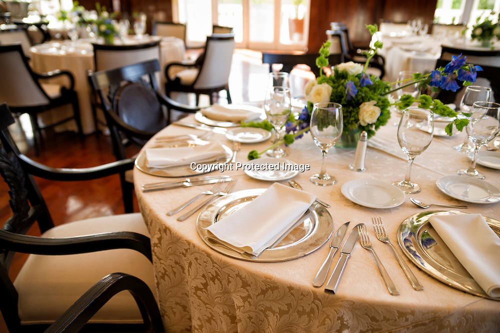 Table Setting for social event.