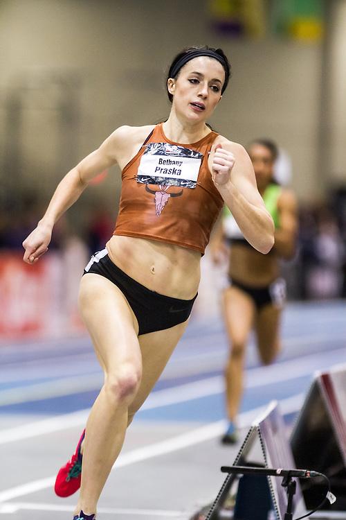 USATF Indoor Track & Field Championships: womens 600, Bethany Praska