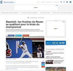 Andrew Medeiros, France3.fr website, 2016.