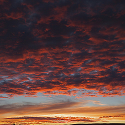 Beautiful Sunset looking towards Black Mountain off of FR525 near Sedona.