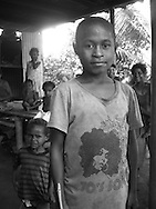 'Superhero' T-shirt fashion,  Gulf Province, Papua New Guinea, Thursday 4th September 2008.