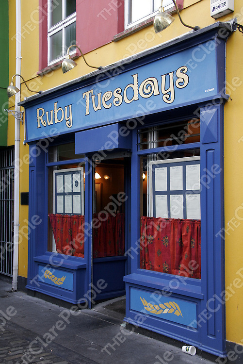 Ruby Tuesdays.<br />
