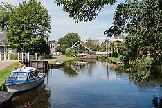 Watergang, Waterland, Noord Holland, Netherlands