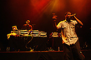 Jay Electronica performs during Mos Def's Estatic Tour featuring DcQ and Jay Electronica held at the 9:30 Club in Washington D.C on August 9, 2009