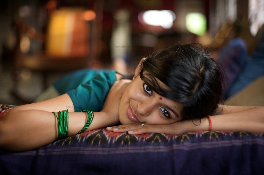 Portrait..Photo: Tom Pietrasik.Chennai, India.March 2008
