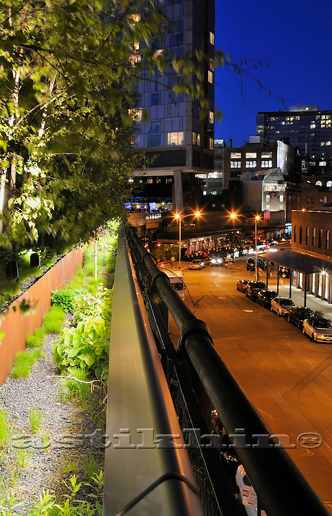 High Line elevated urban park