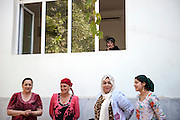 While everyone outside celebrates with Mijgona, the first fully cured patient of MSF's TB treatment project in Tajikistan, some of the little patients are too sick to come outside and are stuck in their hospital room. Treatment and difficult and a very long process and especially hard on young children.