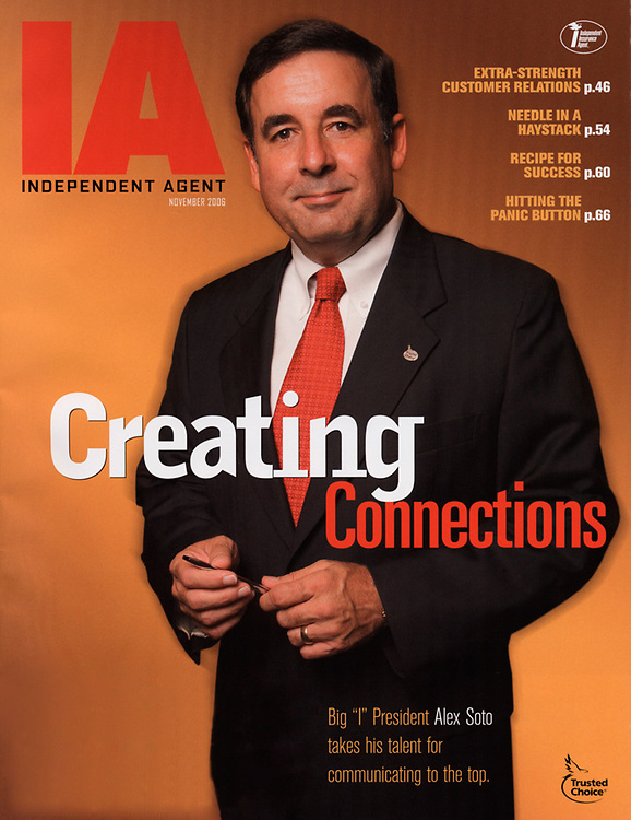 Senior Executive Portrait, magazine cover