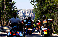 Mount Rushmore as seen from  Custer State Park, South Dakota.