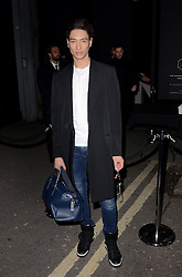 Natt Weller attends LCM a/w 2015 Oliver Spencer Show  at The Old Sorting House, New Oxford Street,  London on Saturday 10 January 2015