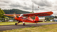 1940 Aeronca 65-TC at Wings and Wheels at Oregon Aviation Historical Society.