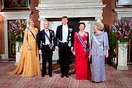 koning Carl Gustaf en koningin Silvia uit Zweden op bezoek in Nederland