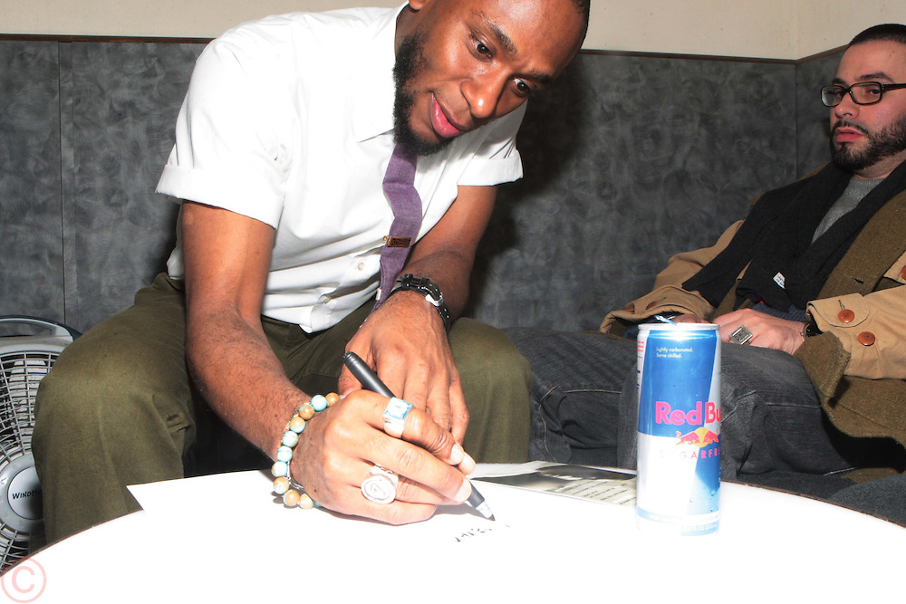 25 March 2011- New York, NY-  Mos Def backstage at The Annual National Black Writers Benefit Concert Produced by Jill Newman Productions held at Highline Ballroom on March 25, 2011 in New York City. Photo Credit: Terrence Jennings