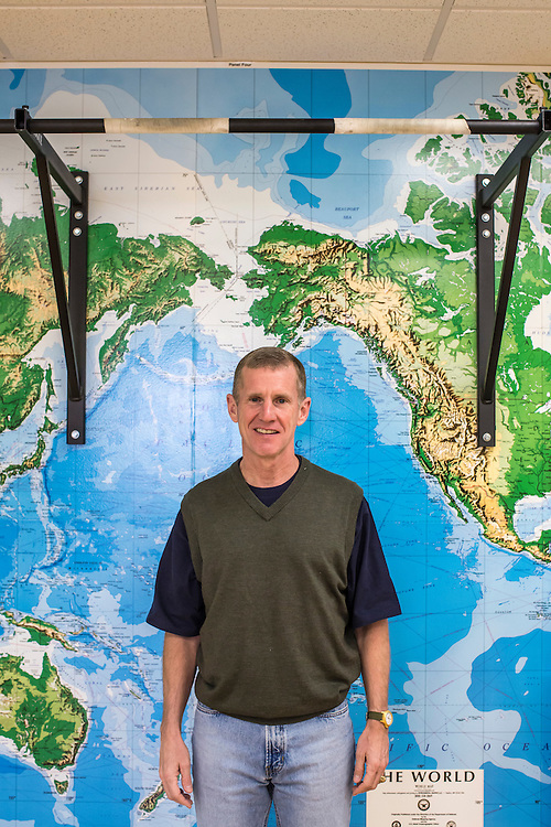 Retired U.S. Army general Stanley McChrystal poses for a portrait at his office on Saturday, January 5, 2013 in Alexandria, VA.