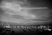 The Monterey, CA harbor.