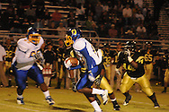Oxford High's Glen Gordon (10) runs vs. New Hope in New Hope, Miss. on Friday, September 30, 2011. New Hope won 43-22.