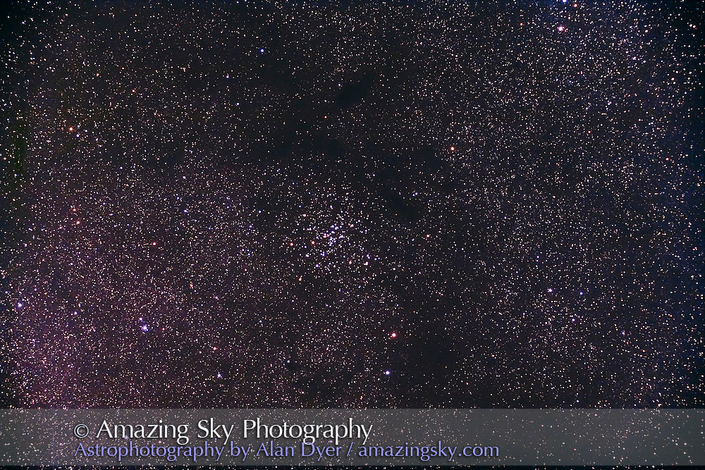 NGC 6124 open star cluster in Scorpius. Taken with 4-inch Astro-Physics Traveler apo refractor at f/6 with 6x7 field flattener, and Hutech-modified Canon 5D camera at ISO 800 for stack oif 4 x 7 minute exposures. Taken from Coonabarabran, NSW, Australia, April 24, 2007.