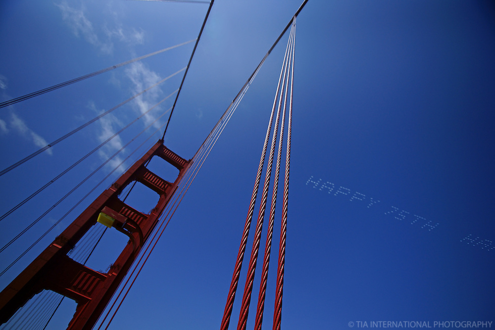 75th Anniversary Celebration of the Golden Gate Bridge (May 2012)