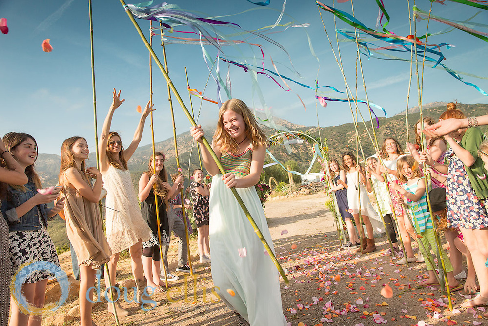 Outdoor Coming of Age Ceremony, Santa Barbara CA