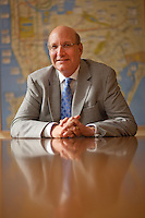 Jay Walder, Chairman and Chief Executive Officer of the Metropolitan Transportation Authority (MTA), since 2009. He recently announced his resignation to take over the MTR Corporation, a transportation company based in Hong Kong...Photo by Robert Caplin.