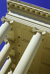 Richmond VA Virginia state capitol building architecture detail Corinthian style columns