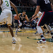 Gonzaga beat San Francisco 95-80 on Jan. 5 at War Memorial Gym in San Francisco. (Gonzaga University photo by Edward Bell)