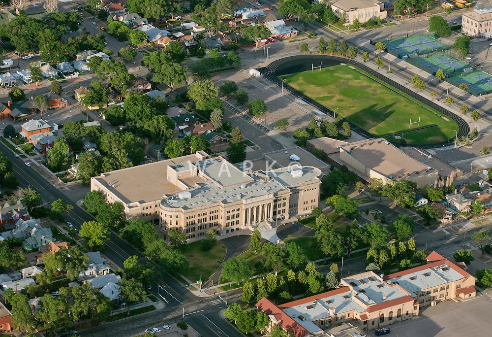 Central High School, Pueblo, Colorado. June 2014. 85715