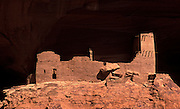 Image of Mummy Cave Ruin at Canyon de Chelly National Monument, Arizona, American Southwest, Anasazi, Navajo
