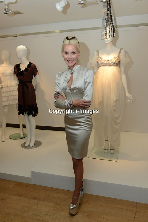 Daphne Guinness at the launch of the sale of her collection at Christie's South Kensington in London, Thursday, 21st June 2012,  to raise money for The Isabella Blow Foundation. Photo by: i-Images