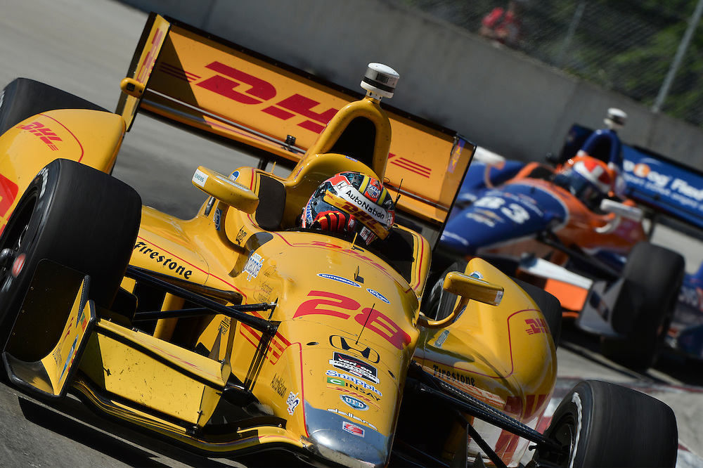 Ryan Hunter-Reay, The Raceway at Belle Isle Park, Detroit, MI USA 6/1/2014