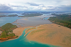 Turtle Reef is a vast fringing reef system in Talbot Bay on the Kimberley coast.