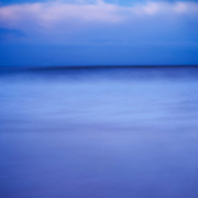 Creative Pinhole fine art photography of a Bald Head Island, North Carolina sunrise.