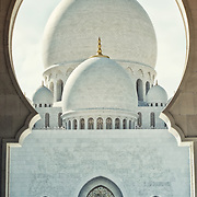 """Grand"" by Asma Faisal.  Sheikh Zayed Grand Mosque in Abu Dhabi, UAE--grand and profound in meaning."