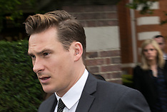 MAY 02 2014 Blue Star Lee Ryan arrives at Ealing Magistrates Court
