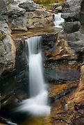 Screw Auger Falls Grafton Notch State Park Maine USA