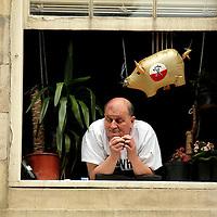 Onlooker in Newcastle - shades of Pink Floyd Newcastle, UK, 29/5/10