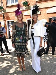 Guest and Amanda Wakeley  attend Royal Ascot Ladies Day at Ascot Racecourse, Ascot, Berkshire on Thursday 18 June 2015