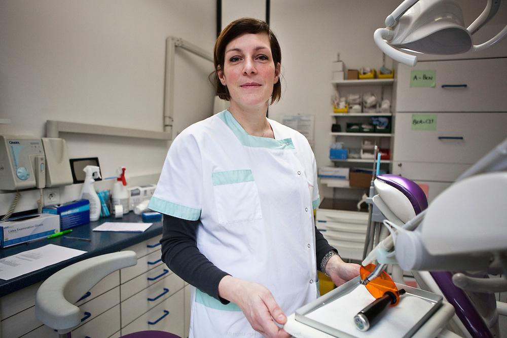 Centre de santé dentaire mutualiste, Créteil, Charlotte Eurin, orthodontiste.