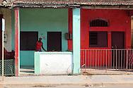 Houses in San Antonio de Rio Blanco, Mayabeque, Cuba.