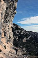 Fjelltur opp til Vidova Gora, den høyeste fjelltoppen på Brac, on the way up to Vidova Gora, Brac's highest mountain top