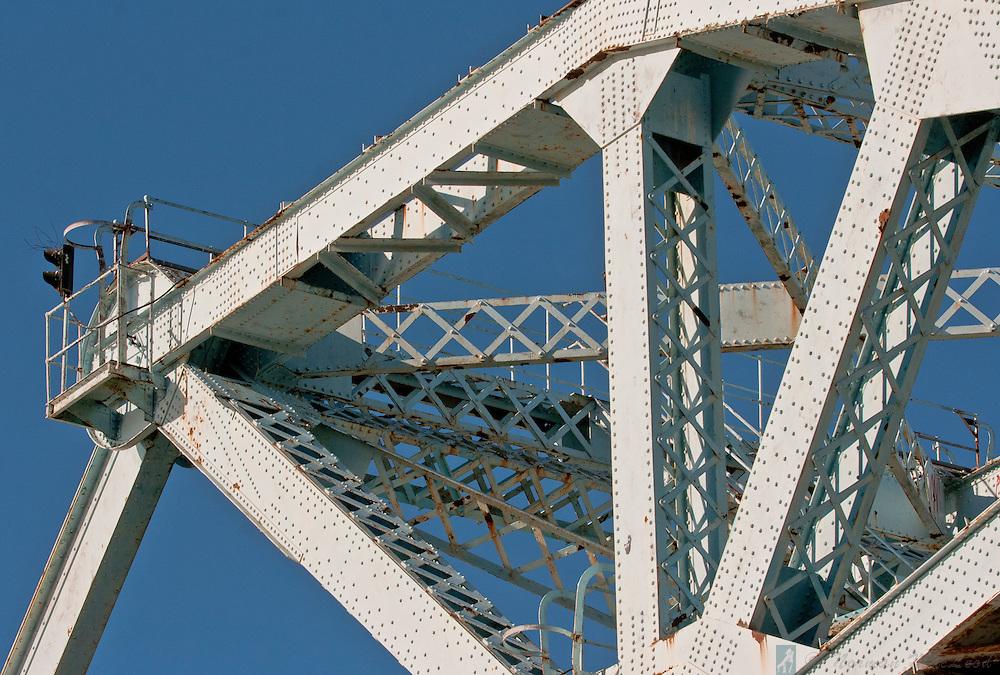 The Johnson Street Bridge is one of the primarly landmarks in Victoria, BC's inner harbor