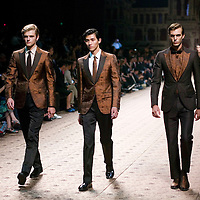 BEIJING, SEPTEMBER15 : Zegna fashion show at the Today Art Museum in Beijing.