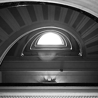 Staircase in the U.S. Custom House, Bowling Green, Manhattan, NY