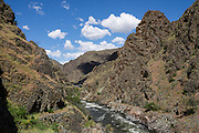 Imnaha River Trail, Hells Canyon National Recreation Area, Wallowa-Whitman National Forest, north of Imnaha village, Oregon, USA. The entire river is designated Wild and Scenic.
