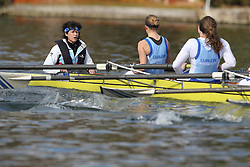 2012.02.25 Reading University Head 2012. The River Thames. Division 1. Curlew Rowing Club W.IM2 8+